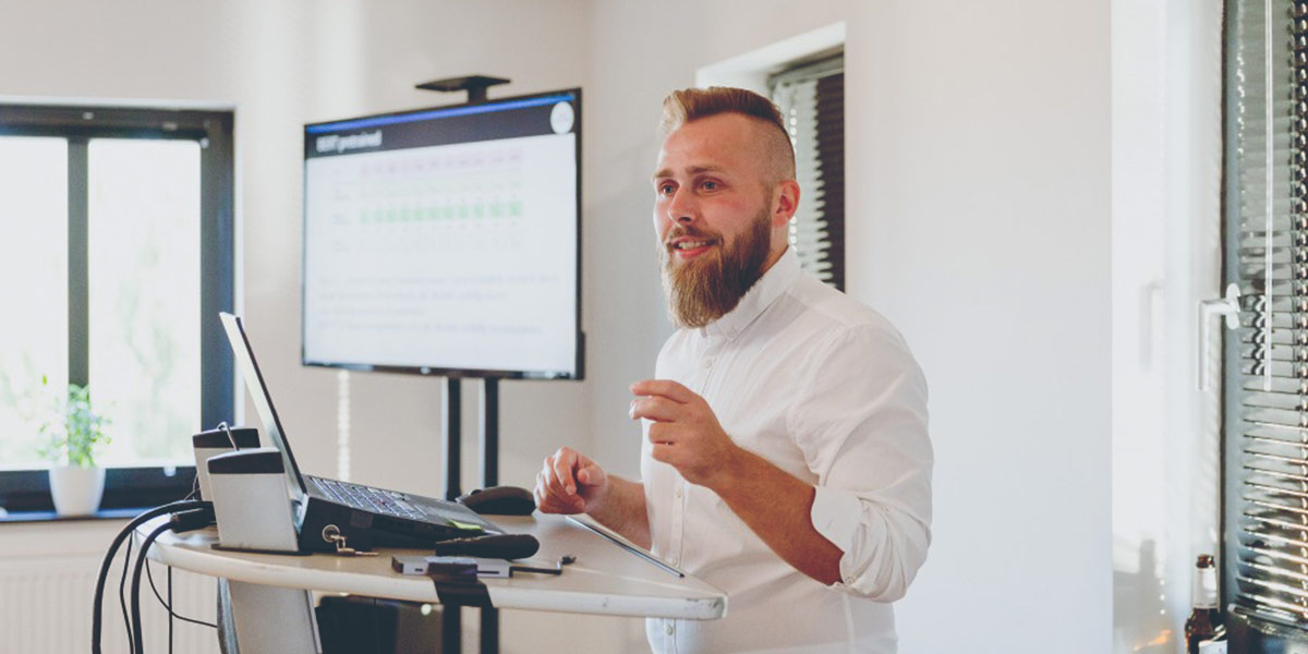 Trainer der Online-Marketing-Schulung in Berlin